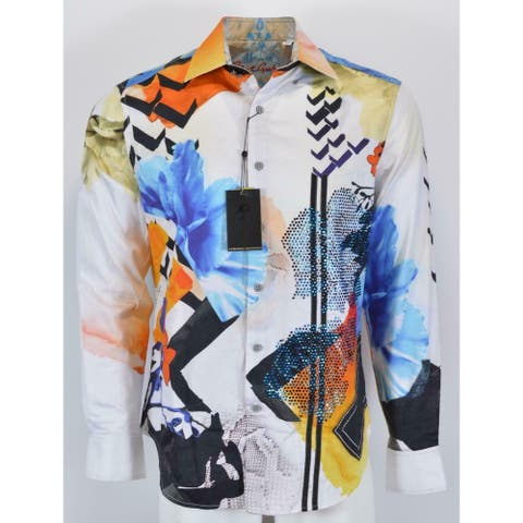Robert Graham ZERO TO SIXTY Embroidered Crystal Limited Edition Shirt