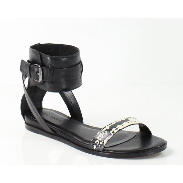 Pour La Victoire NEW Black Women's Shoes 7.5M Riko Rython Sandal