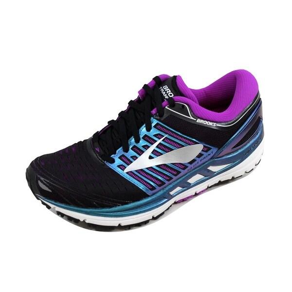 6a4dd92dc79 ... Women s Athletic Shoes. Brooks Women  x27 s Transcend 5 Black Purple- Multi 120263 1B 023