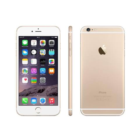 Apple iPhone 6 Plus 16GB (Unlocked) - Gold - Acceptable