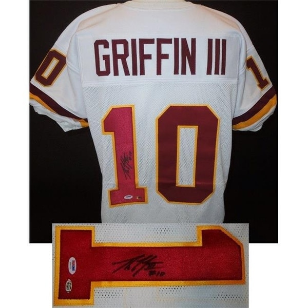 Shop Robert Griffin III Signed - Autographed Washington Redskins Jersey -  Free Shipping Today - Overstock - 24004664 21396679d