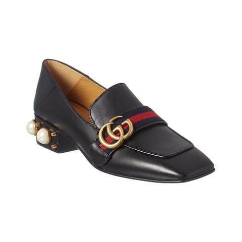 Gucci Gg Leather Loafer