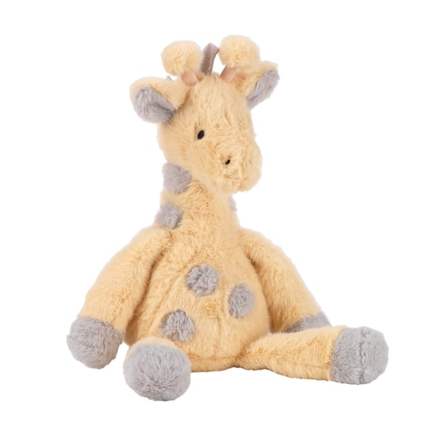 0243010c3 Shop Lambs   Ivy Me   Mama Yellow Gray Plush Giraffe Stuffed Animal ...