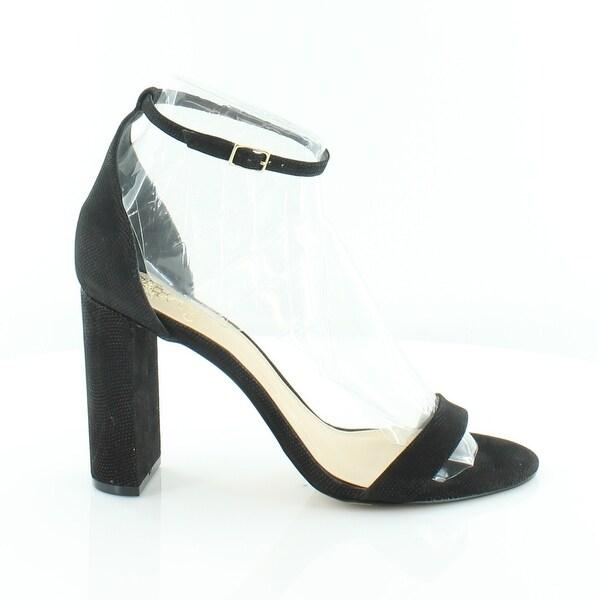 Vince Camuto Mairana Women's Heels Black Pointed Nubuck - 10