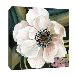 "PTM Images 9-147775  PTM Canvas Collection 12"" x 12"" - ""Anemone Study IV"" Giclee Flowers Art Print on Canvas"