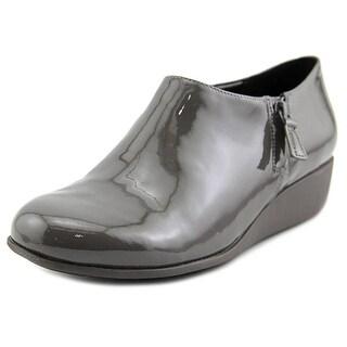 Cole Haan Callie Rain Women Open Toe Synthetic Gray Wedge Heel