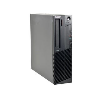 Lenovo ThinkCentre M91p Core i7-2600 3.4GHz 2nd Gen CPU 8GB RAM 2TB HDD Windows 10 Pro Small Form Factor PC (Refurbished)