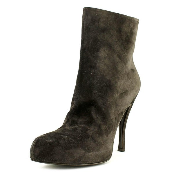 Roger Vivier RVW19705960O20S800 Women Pointed Toe Suede Gray Ankle Boot