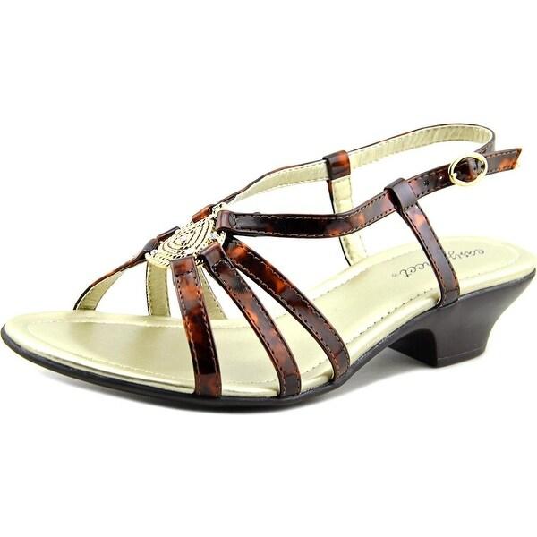 Easy Street Tripoly Women W Open-Toe Synthetic Slingback Sandal