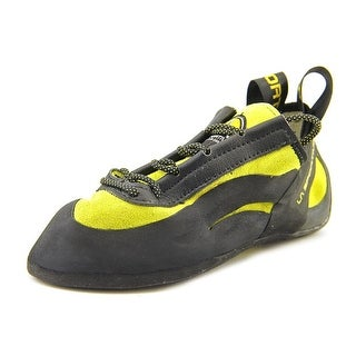 La Sportiva Miura Youth Round Toe Leather Black Hiking Shoe