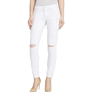 DL1961 Womens Azalea Skinny Jeans Relaxed Fit White Wash
