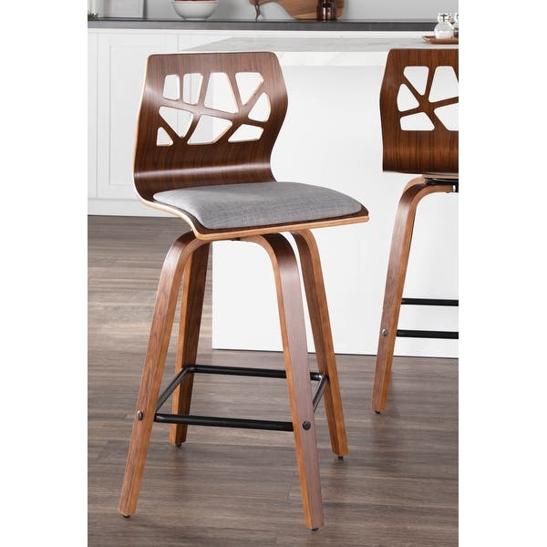 Carson Carrington Sala Mid Century Modern Counter Stools Set Of 2 On Sale Overstock 26428591