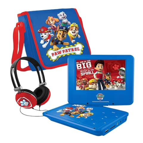 PAW Patrol NKPDVD700CH 7in Portable DVD Player