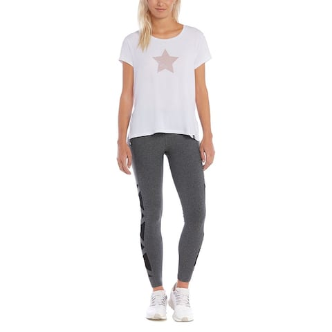 X By Gottex Side Slit Star Tunic Tee