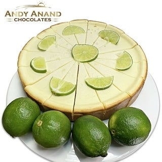 "Link to Sugar Free Key Lime Cheesecake 9"" Fresh Made 2nd Day Shipping (2 lbs) Similar Items in Gourmet Food Baskets"