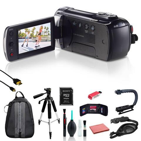 Samsung HMX-F90 Camcorder w/ 10pc Accessories Bundle