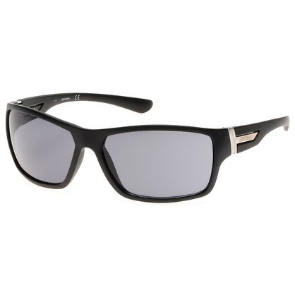 Shop Harley-Davidson Men\'s Plastic Wrap Sunglasses, Matte Black ...