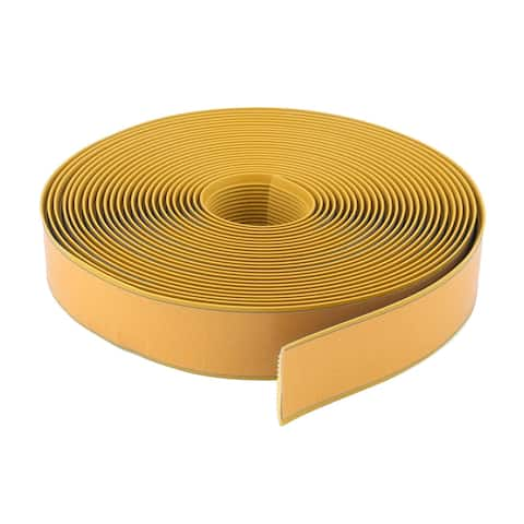 Living Room PVC Adhesive Anti Skid Stairs Steps Ladders Tape Yellow 36.1 Ft
