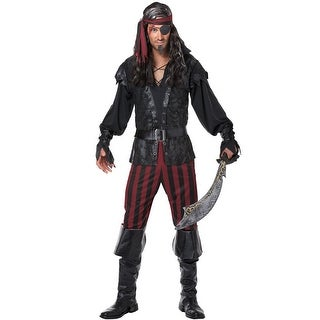 California Costumes Ruthless Rogue Adult Costume - Black/Red