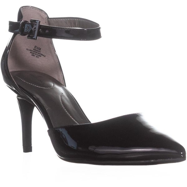 Bandolino Ginata Ankle Strap Pumps, Black