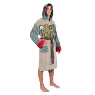 Star Wars Boba Fett Men's Hooded Bathrobe