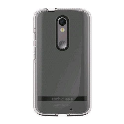 newest 37293 318cd Shop Tech21 Evo Shell Case for Motorola Droid Turbo 2 - Clear - Free ...