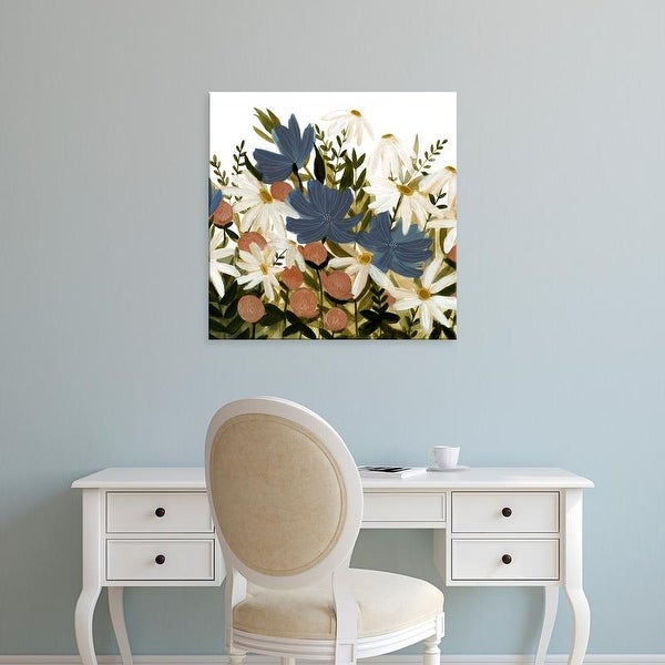 Easy Art Prints Emma Scarvey's 'Wildflower Garden II' Premium Canvas Art