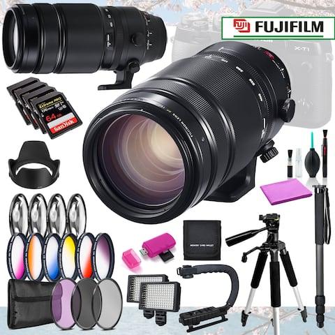 Fujifilm XF 100-400mm f/4.5-5.6 R LM OIS Lens Master Bundle + 29pc Acc
