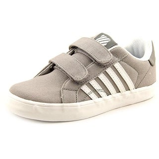 K-Swiss Belmont So T Strap Round Toe Canvas Sneakers