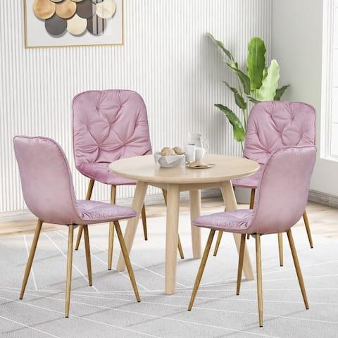 TiramisuBest Modern New technology Simple style 4PCS Dining Chair