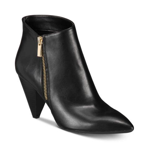 INC International Concepts Womens Gaetana Pointed Toe Ankle Fashion Boots