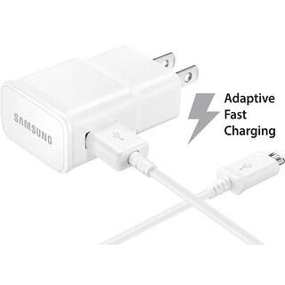 Samsung Adaptive Fast Charging Wall Charger Micro USB with Adaptive Fast Charging - White