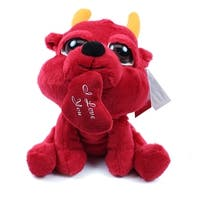 Devil Peepers with Heart 8 Inch Plush by Russ Berrie