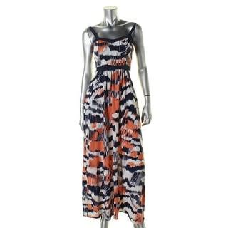 Soprano Womens Casual Dress Ikat Cut Out - xs
