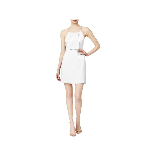 Shop Kensie Womens Cocktail Dress Sleeveless Cutout Free Shipping