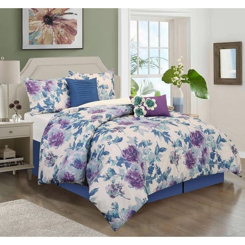 Grand Avenue Flor Springs 6-Piece Comforter Set