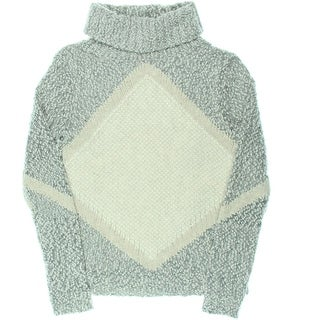 Shae Womens Wool Blend Turtleneck Pullover Sweater