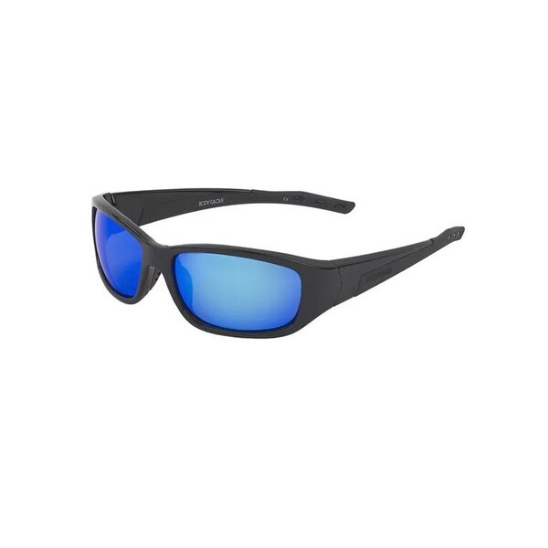 6cec063a5cd30 Shop Body Glove Mobius Polarized Sunglasses - black smokey blue mirror -  One size - Free Shipping On Orders Over  45 - Overstock - 24040515