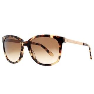 KATE SPADE Square KS Gayla/S Women's ESP Y6 Camel Tortoise Brown Brown Gradient Sunglasses - 52mm-19mm-130mm