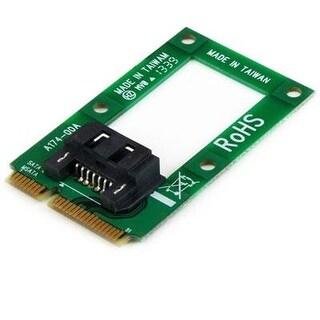 Startech Msata To Sata Hdd/Ssd Adapter, Mini Sata To Sata Converter Card (Msat2sat3)