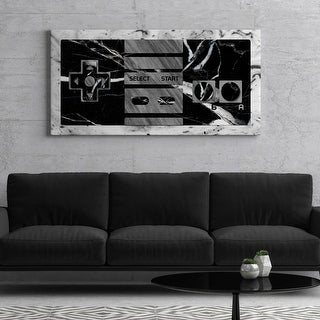 IKONICK Game On (Marble Edition) Canvas Art