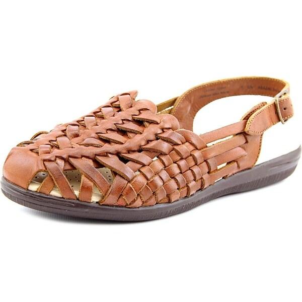 Softspots Tobago Womens Rust Tan Sandals