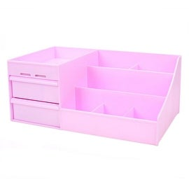 Drawer Type Organizer Comestics Sotrage Box 3014 S purple