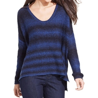 DKNY Jeans Womens Pullover Sweater Marled Oversized - l