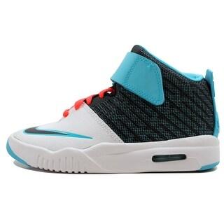 Nike Grade-School Air Akronite White/Bright Blue-Bright Crimson 819832-102