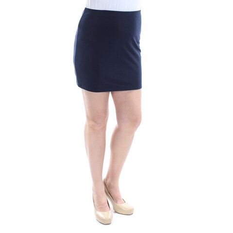 Womens Navy Casual Skirt Size 11