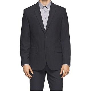 Calvin Klein NEW Tornado Black Mens Size Small S Two Button Sport Coat