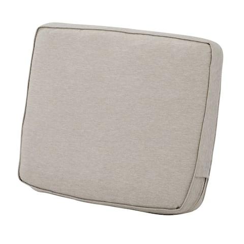 "Montlake FadeSafe Patio Lounge Back Cushion - 21""L x 4""W x 20""H"