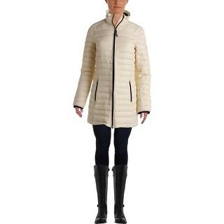 Lauren Ralph Lauren Womens Down Quilted Puffer Jacket - XS