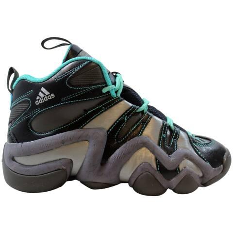 Adidas Crazy 8 J Granite/Granite-Vivid Mint Kobe S85440 Grade-School